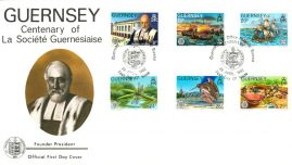 1982 Guernsey stamps Official First Day Cover La Societe Guernesiaise refE101135 Cover in Good condition. Unsealed with insert card. Please see larger photo and full description for details.