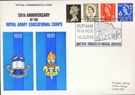 ELTHAM PALACE Army British Forces 1107 Postal Service stamp cover refD325 In very good condition. Please see larger photo and full description for details.