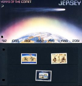 Jersey Years of the Comet Stamps Presentation Pack refE101093 Stamps in very good condition. Please see larger photo and full description for details.