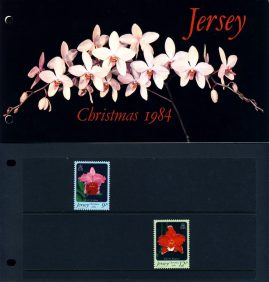 Jersey CHRISTMAS 1984 Stamps Presentation Pack refE101094 Stamps in very good condition. Please see larger photo and full description for details.