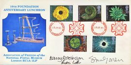 1995 National Postal Muesum SIGNED 10th Anniversary Luncheon stamps cover refD191 In very good condition. No Insert Card. Please see larger photo and full description for details.