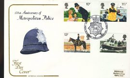 New Scotland Yard London SW1 1979 Metropolitan Police FDC Cotswold Cover refD194  In very good condition. With Insert Card. Please see larger photo and full description for details.