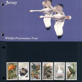 Jersey Wildlife Preservation Trust Stamps Presentation Pack refE101095 Stamps in very good condition. Please see larger photo and full description for details.