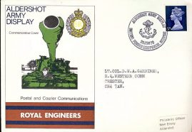 Royal Engineers Aldershot Army Display BFPO 1126 HQ Western Comm Chester Commemorative Cover refD206 In very good condition. With Blank Insert Card. Please see larger photo and full description for details.