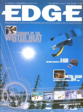 EDGE magazine 1080 Snowboarding N64 Jan 1998 - Billed as 'The Future of Interactive Entertainment' r1-30