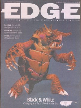 EDGE magazine Best 100 videogame of all time UK EVIL EDITION Jan 2000 - Billed as 'The Future of Interactive Entertainment' r1-10