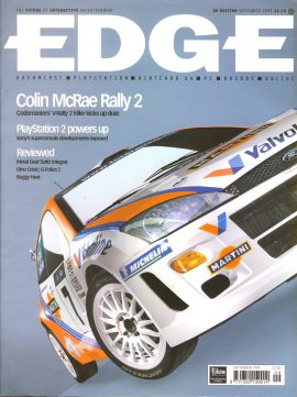 EDGE magazine Colin McRae Rally 2