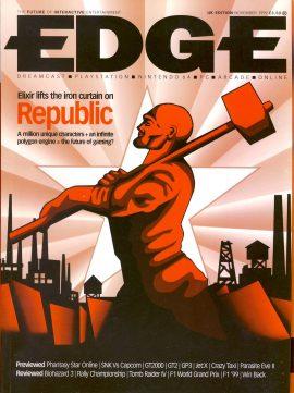 EDGE magazine Elixir Republic UK Edition November 1999 - Billed as 'The Future of Interactive Entertainment' r1-16