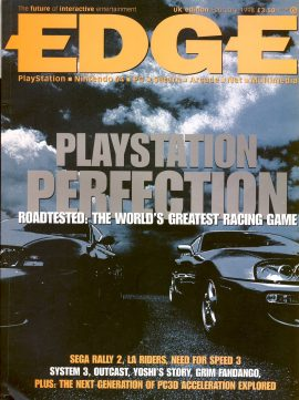 EDGE magazine Playstation PERFECTION UK edition Feb 1998 - Billed as 'The Future of Interactive Entertainment' r1-27