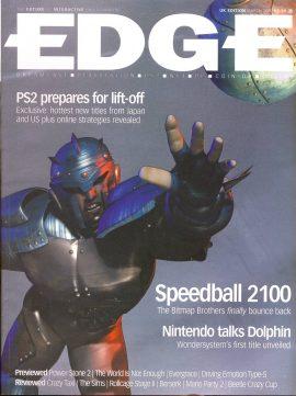 EDGE magazine Speedball 2100