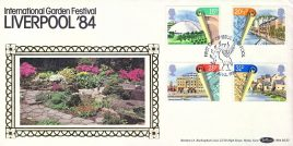 1984 Liverpool Garden Festival Urban Renewal special First Day of Issue Liverpool stamps cover Benham refE16 Cover in very good condition. Unsealed with insert. Please see larger photo and full description for details.