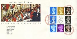 London Life 1990 Stamp World Royal Mail First Day Cover refE24 Cover in very good condition. Unsealed with insert. Please see larger photo and full description for details.