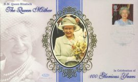 H.M.Queen Elizabeth The Queen Mother Castle of Mey Thurso 4th Aug 2000 silk picture LTD ED stamp cover refE Benham Millennium Collection Limited Edition Cover Silk Cache Picture / Stamp Cover in very good condition. Unsealed with blank insert. Reverse side has text information regarding cover topic.  Please see larger photo and full description for details.
