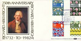 RICHARD ARKWRIGHT 1982 British Textiles Willam Morris