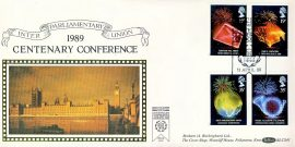 Inter Parliamentary Union 1989 Centenary Conference special handstamp stamps cover Benham refE6 Cover in very good condition. Unsealed no insert. Please see larger photo and full description for details.