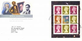DOWN ORPINGTON 1999 World Changers Tale of British Scientific Genius Royal Mail stamps cover refE44 Cover in very good condition. Unsealed with insert. Please see larger photo and full description for details.