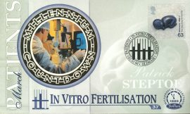 Louise Brown PATIENTS Patrick Steptoe IVF In-Vitro-Fertilisation OLDHAM 2nd March 1999 LTD ED stamp cover refE65 Benham Millennium Collection Limited Edition Cover Silk Cache Picture / Stamp Cover in very good condition. Unsealed with blank insert. Reverse side has text information regarding cover topic.  Please see larger photo and full description for details.