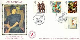 Nina Hamnett ROGER FRY Ltd Edition C20th Art Zwemmer Courtauld Institure Galleries London stamps cover Benham Silk refE8 Cover in very good condition. Unsealed with insert. Please see larger photo and full description for details.