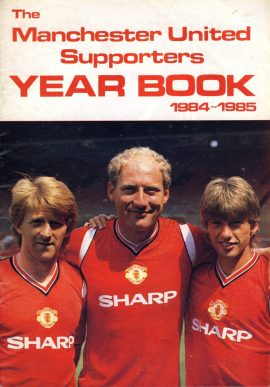 Manchester United Supporters Year Book 1984-1985 - 36 pages refD102034 United Review Vintage programme as listed and shown in the photo. Please see large photo and read full description for condition report.