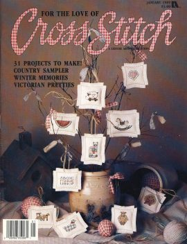 Vintage Crafts cross stitch magazine Victorian Ornaments