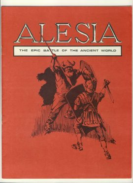 ALESIA Epic Battle of the Ancient World game rules 16 pages ref100074 Ideal for additional / replacement in exisiting board game. RULES ONLY no game parts or boards