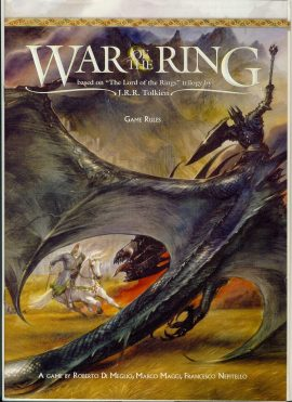 War of the Ring game rules 24 pages ref1000890 Ideal for additional / replacement in exisiting board game. RULES ONLY no game parts or boards
