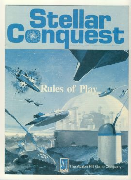 Stellar Conquest Rules of Play 12 pages game rules ref100098 Ideal for additional / replacement in exisiting board game. RULES ONLY no game parts or boards