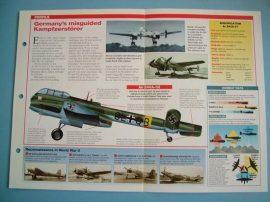 German Aircraft of World War II Card 31 Arado AR240