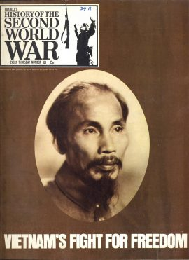 Purnell's History of the Second World War no.121 Vietnam's Fight for Freedom ref147 Magazine in good read condition.