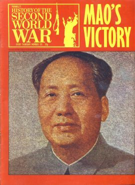 Purnell's History of the Second World War no.125 Mao's Victory Ref151 Magazine in very good read condition.