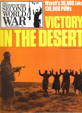 Purnell's History of the Second World War Victory in the Desert no.12 ref132 Magazine in very good read condition.
