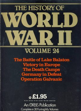 The History of World War II magazine as seen in the image. Published in the 1980s. Good clean used conditon with scuffs to cover - See below for more details.