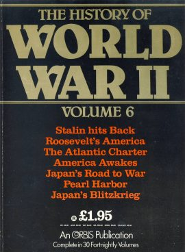 The History of World War II magazine as seen in the image. Published in the 1980s. Good clean used conditon - See below for more details.
