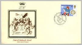 1981 Duke of Edinburgh's Award Skills Stamp First Day Cover refF4 Cover in good condition. Please see larger photo for details.