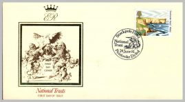 1981 National Trusts Stackpole Head Pembroke First Day Cover refF5 Cover in good condition. Please see larger photo for details.