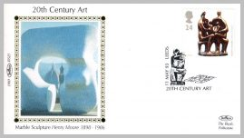 1993 BS25 20thC ART Henry Moore Marble Sculpture Ltd Edition small silk cover refF5 Cover in very good condition. Please see larger photo for details.