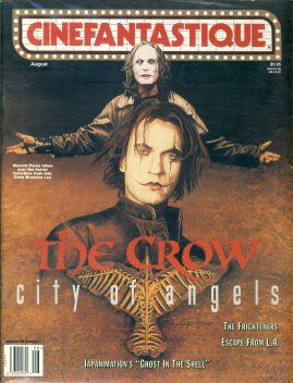 CINEFANTASTIQUE magazine The Crow City of Angels Vol.28 No.1 ref100367 Science Fiction