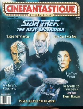 CINEFANTASTIQUE magazine 1994 Double Issue STAR TREK ref100376 Science Fiction
