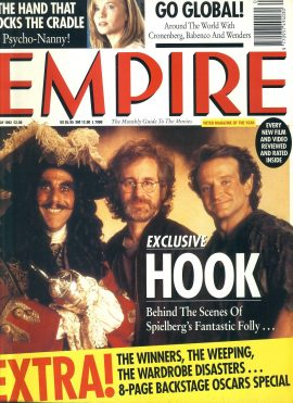 EMPIRE magazine May 1992 HOOK Spielberg ref10107 Pre-owned in very good clean condition. Please see larger photo and full description for details.