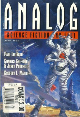 ANALOG Science Fiction & Fact APRIL 1996 (Higher Education part 3 of 4) Paul Levinson