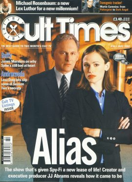 Cult Times TV magazine May 2002 James Marsters SPIKE Lexa Doig JJ ABRAMS ref100452 Pre-owned in very good condition. Please see larger photo and full description for details.