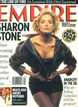 EMPIRE magazine Sept 1993 SHARON STONE ref10110 Pre-owned in very good condition. Please see larger photo and full description for details.