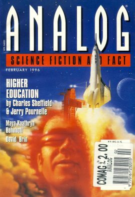 ANALOG Science Fiction & Fact FEB 1996 HIGHER EDUCTION (part 1 of 4) by Charles Sheffield & Jerry Pournelle paperback book / magazine ref101468 This is a pre-owned paperback book / magazine in very good used condition. Magazine ONLY