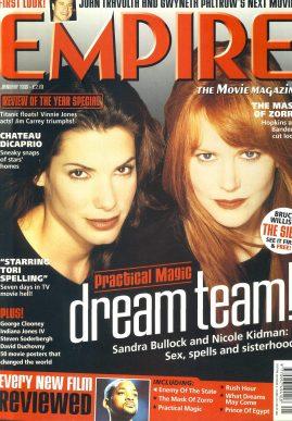 EMPIRE magazine JAN 1999 Sandra Bullock