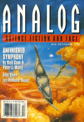 ANALOG Science Fiction & Fact Mid-Dec 1996 UNFINISHED SYMPHONY by Rick Cook & Peter L Manly paperback book / magazine ref101470 This is a pre-owned paperback book / magazine in very good used condition. Magazine ONLY