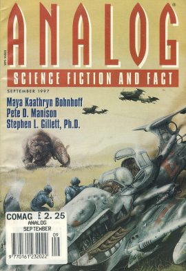 ANALOG Science Fiction & Fact September 1997 paperback book / magazine ref101473 This is a pre-owned paperback book / magazine in very good used condition. Magazine ONLY