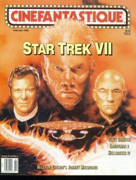 CINEFANTASTIQUE magazine 1995 Star Trek VII