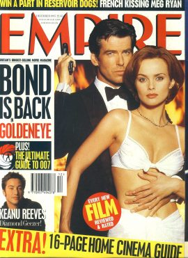 EMPIRE magazine DEC 1995 BOND GOLDENEYE ref10118 Pre-owned in very good clean condition. Please see larger photo and full description for details.