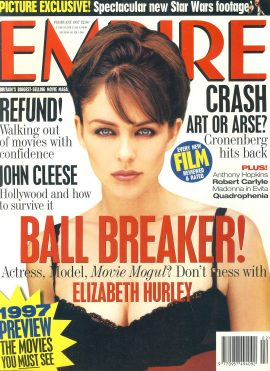 EMPIRE magazine FEB 1997 Elizabeth Hurley ref10124 Pre-owned in very good clean condition. Please see larger photo and full description for details.