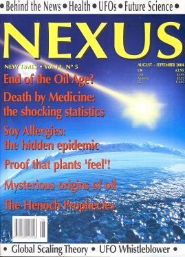 NEXUS New Times magazine End of the Oil Age
